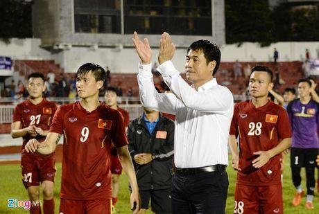 Indonesia vs DTVN (0-2, H1): Van Thang, Minh Tuan ghi ban - Anh 10