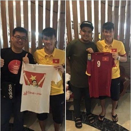 Indonesia vs DTVN (0-2, H1): Van Thang, Minh Tuan ghi ban - Anh 1