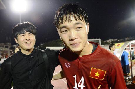 Indonesia vs DTVN (0-2, H1): Van Thang, Minh Tuan ghi ban - Anh 8