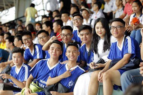 Nu sinh Ha Thanh khoe sac tai giai bong da hoc sinh PTTH - Anh 11
