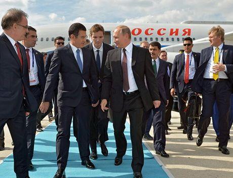 Tong thong Nga Vladimir Putin bat dau chuyen tham Tho Nhi Ky - Anh 1