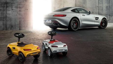 Mercedes trinh lang xe AMG GT Bobby-Car danh cho tre em - Anh 4
