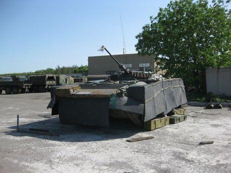 'Dau tim' voi xe chien dau bo binh BMP-2 nang cap cua Ukraine - Anh 3