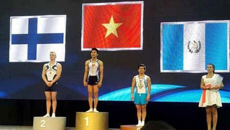 Dinh Phuong Thanh, Nguyen Tuan Dat gianh 'vang' o Cup TDDC the gioi 2016 - Anh 1