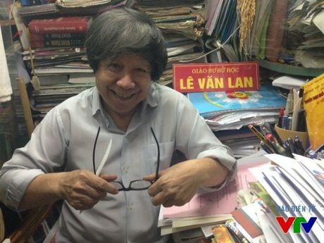 Nha su hoc Le Van Lan va nhung ky uc ve ngay giai phong Thu do lich su - Anh 1