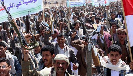 Yemen bieu tinh phan doi vu khong kich cua Saudi Arabia - Anh 1