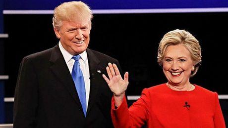 Ong Trump va ba Clinton dau vong 2 - Anh 1