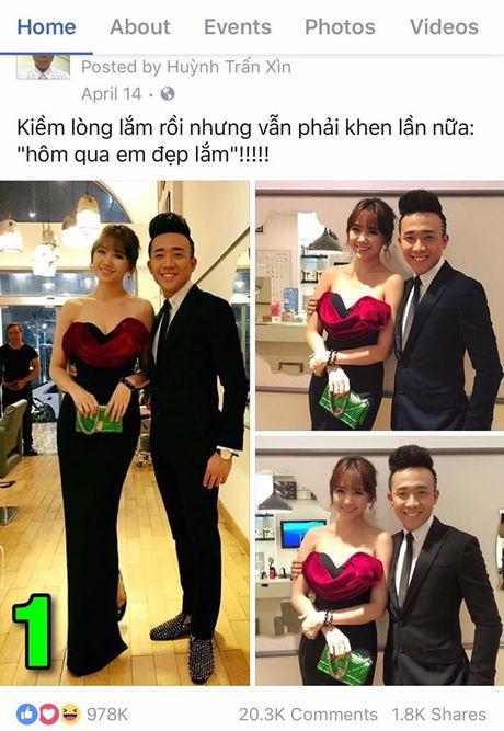'Sot xinh xich' voi anh tinh tu cua Tran Thanh – Hari Won - Anh 2