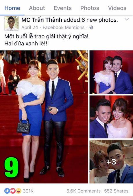 'Sot xinh xich' voi anh tinh tu cua Tran Thanh – Hari Won - Anh 8