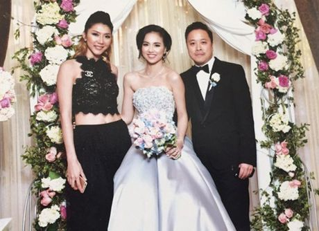 Ngoc Quyen du dam cuoi cua Dinh Ngoc Diep - Victor Vu tai My - Anh 1