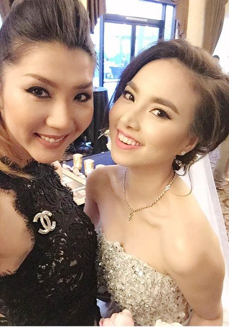 Ngoc Quyen du dam cuoi cua Dinh Ngoc Diep - Victor Vu tai My - Anh 5