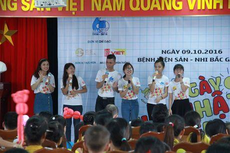 'Ngay chu nhat cho em' mang niem vui cho cac benh nhi o Bac Giang - Anh 3