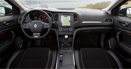 Renault Megane sedan the he moi chinh thuc trinh lang - Anh 8