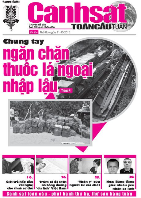 Don doc Canh sat toan cau tuan so 334 - Anh 1