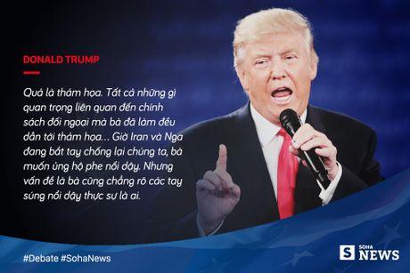 Trump - Clinton da noi gi de 'da thuong' nhau trong tranh luan? - Anh 11