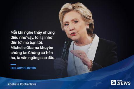 Trump - Clinton da noi gi de 'da thuong' nhau trong tranh luan? - Anh 12