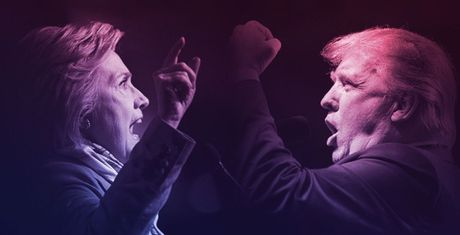 Trump - Clinton da noi gi de 'da thuong' nhau trong tranh luan? - Anh 1