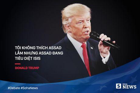 Trump - Clinton da noi gi de 'da thuong' nhau trong tranh luan? - Anh 6