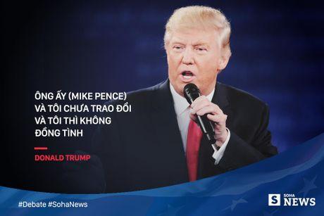 Trump - Clinton da noi gi de 'da thuong' nhau trong tranh luan? - Anh 7