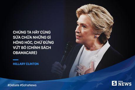 Trump - Clinton da noi gi de 'da thuong' nhau trong tranh luan? - Anh 9