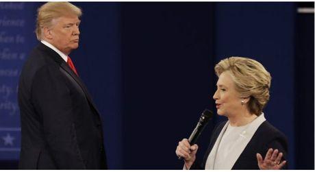 Trump vs Clinton: Cuoc tranh luan 'ky quac' nhat trong lich su tranh cu tong thong My - Anh 1