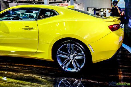 Chevrolet Camaro SS, xe co bap duy nhat tai VMS 2016 - Anh 12