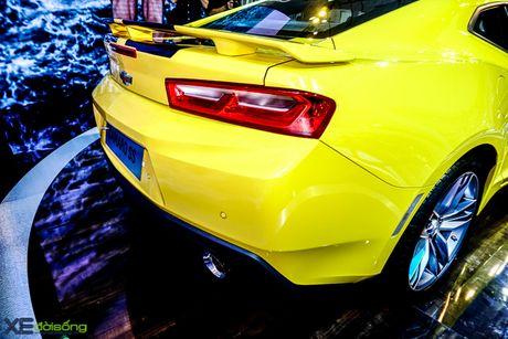 Chevrolet Camaro SS, xe co bap duy nhat tai VMS 2016 - Anh 13