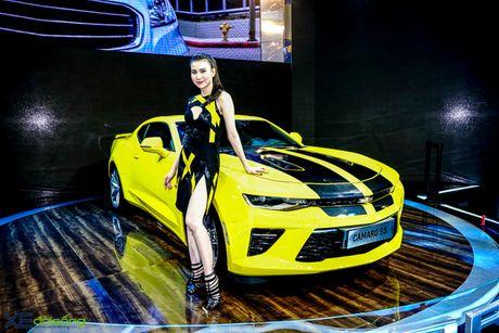 Chevrolet Camaro SS, xe co bap duy nhat tai VMS 2016 - Anh 1