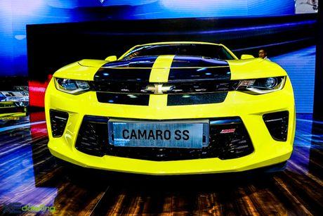 Chevrolet Camaro SS, xe co bap duy nhat tai VMS 2016 - Anh 3