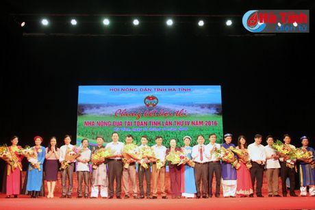 Chung kết Hội thi Nhà nông đua tài toàn tỉnh Hà Tĩnh lần thứ 4