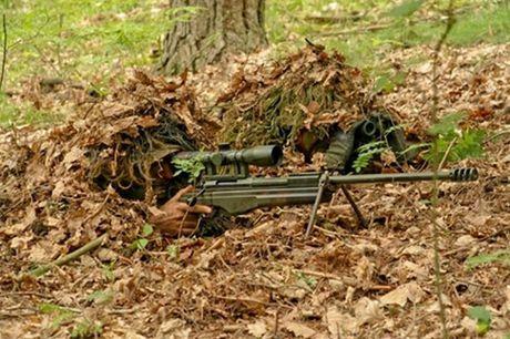 Trinh sat cua Donetsk cao buoc linh ban tia My den Donbass - Anh 1