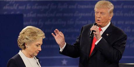 Tranh luan truc tiep lan 2: Ba Clinton tiep tuc to ra 'troi' hon ong Trump - Anh 9