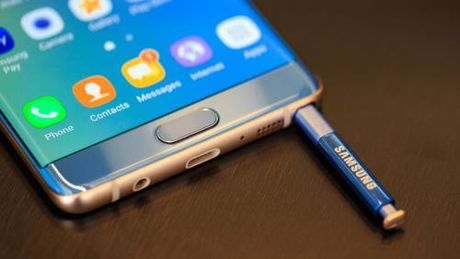 Samsung co the tam dung san xuat Galaxy Note 7 - Anh 1
