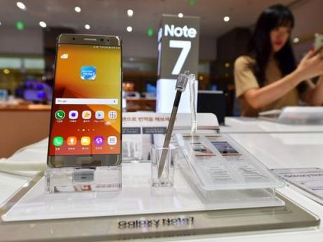 Samsung co the tam dung san xuat Galaxy Note 7 - Anh 2