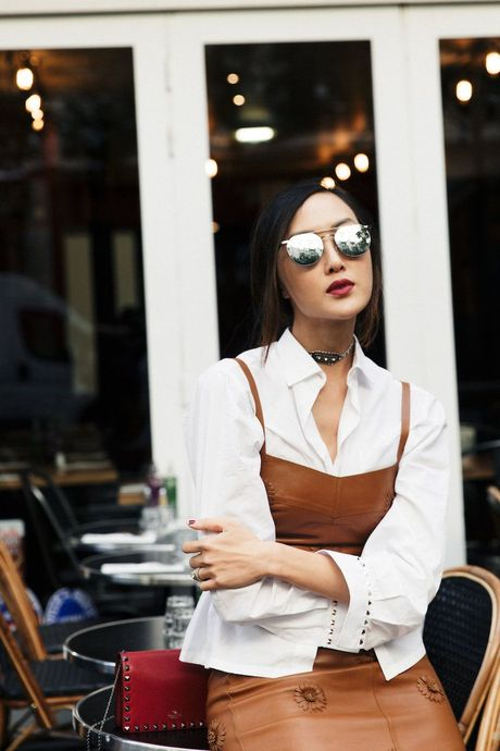 Hoc lom cach mix do Thu Dong tu 5 fashion blogger chau A - Anh 13