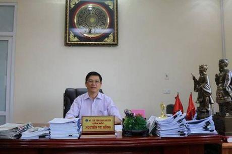 Benh vien C - Thai Nguyen: Di dau cong tac xu ly rac thai y te - Anh 3