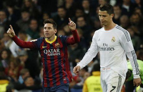 Top cau thu vi dai nhat La Liga: Cris Ronaldo kem Messi 19 bac - Anh 1