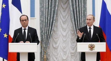 Ong Hollande khong chac viec tiep ong Putin o Paris ban ve Syria - Anh 1