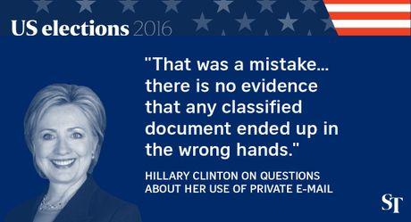 So gang lan 2 Trump - Clinton: 12 phat ngon an tuong nhat - Anh 3