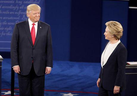 """Cuoc chien"" ngon ngu co the Hillary Clinton va Donald Trump - Anh 1"