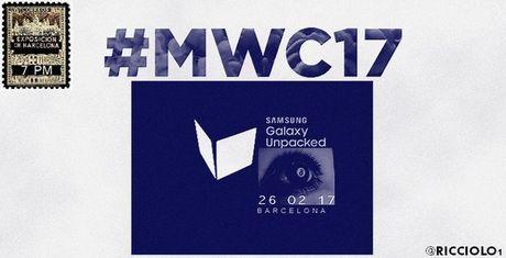 Samsung Galaxy S8 ra mat ngay 26/2 - Anh 1