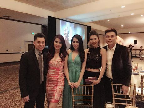 Dinh Ngoc Diep - Victor Vu to chuc dam cuoi o My - Anh 5