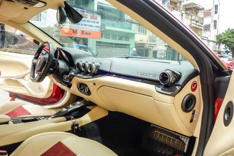 Sieu xe Ferrari F12 ban do nhap Dubai ra bien so Sai Gon - Anh 6