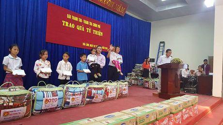 Báo Thanh tra mang 'Hành trình yêu thương' đến Cao Bằng