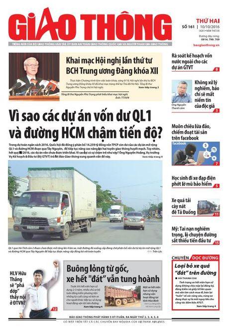 Bao Giao thong 10/10: Xe het 'dat' tung hoanh, hoc sinh phot lo MBH - Anh 1