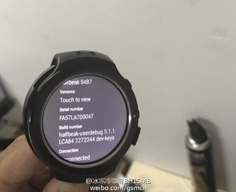 Lo dien chiec smartwatch chay Android Wear chua bao gio duoc gioi thieu cua HTC - Anh 2