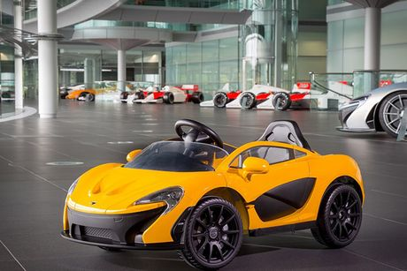 Sieu xe McLaren P1 gia hon 10 trieu cho 'dai gia nhi' - Anh 2