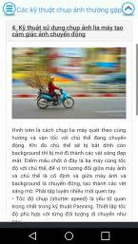 Moi dung thu ung dung 'Cam nang nhiep anh co ban' cho Android - Anh 4