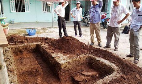Bi an lang mo vua Quang Trung: Phat hien dau tich nghi la nen mong tuong thanh - Anh 1
