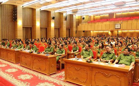 Hoi Phu nu Tong cuc Canh sat mit tinh ky niem Ngay thanh lap Hoi Lien hiep Phu nu Viet Nam - Anh 2